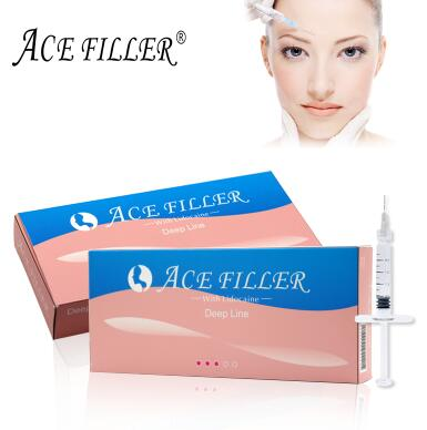 Derm Deep line ACE 1ml sodium dermal filler injection for fuller lip