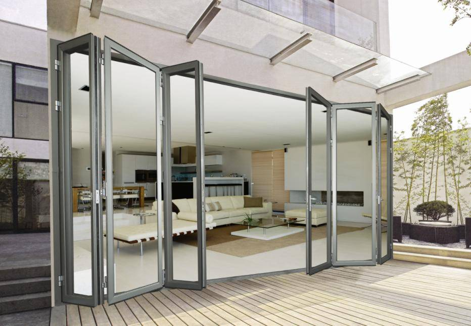 Alaform Aluminum Bi Folding Door Systems Alaform Frameless Glass