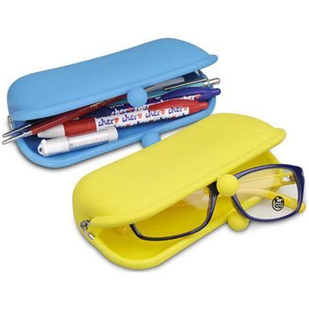 Silicone glass pouch/purse