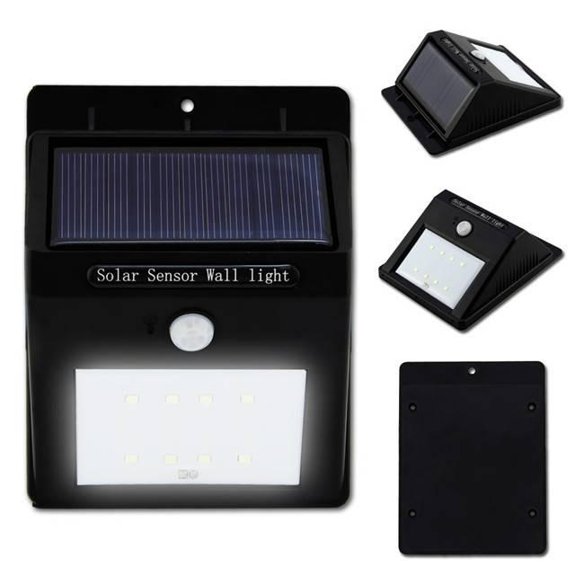Solar Light Waterproof Outdoor 8LED Light Solar Energy Powered Motion Sensor Detector Activated lamp