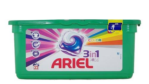 ARIEL 3IN1 COLOR CAPSULES (32PCS)