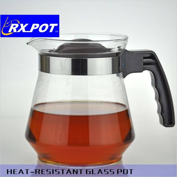 2016 pretty Middle east thermos glass body coffee pot