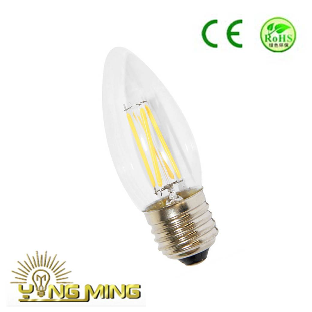Electronic Candle C35 LED Filament Bulb