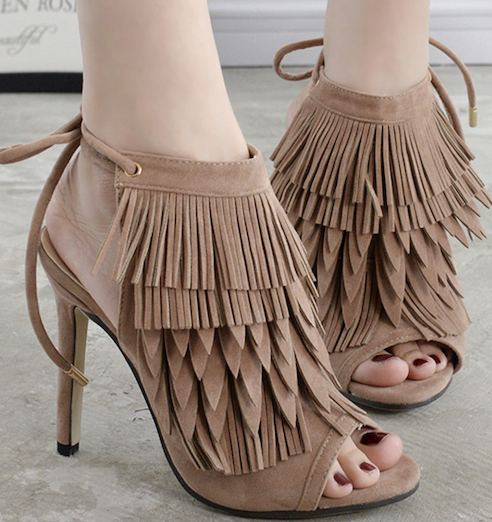 fashion tassel ladies 2018 new style