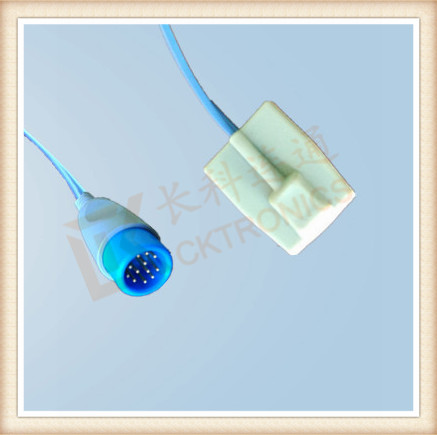 BIOLIGHT 12Pin Pediatric Silicone Soft Tip SpO2 Sensor