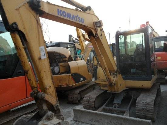 Used Crawler Excavators Komatsu PC 56
