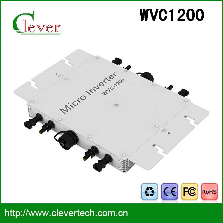 High quality solar micro inverter 1200w DC to Ac waterproof manufacturer in dongguan