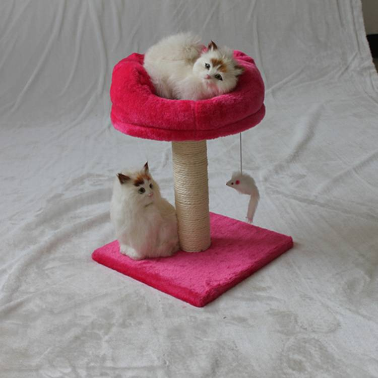 Hot Sale Cat Tree With Funny Toys