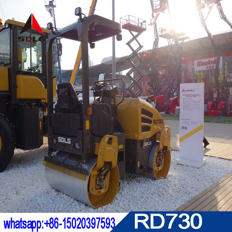 SDLG 3 ton hydraulic road roller RD730 with best quality and low price for sale