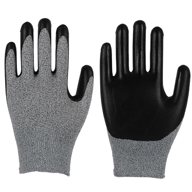 13G Polyester Nitrile Coated Gloves