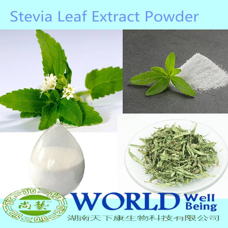 Factory High Quality 95% Stevioside RA 98%Powder Stevia Leaf Extract Stevia Extract RA98%