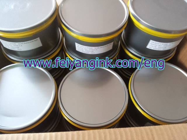Dye sublimation ink for planographic printing FLYING FO-GA