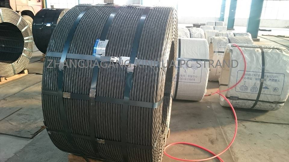 7 wire prestressed stand  for 12.7mm and 15.24mm