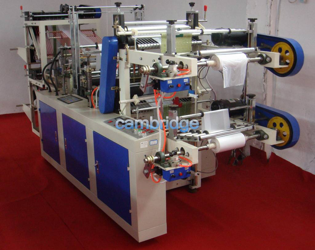 Continuous Rolled Flat Bag Dotting Machine