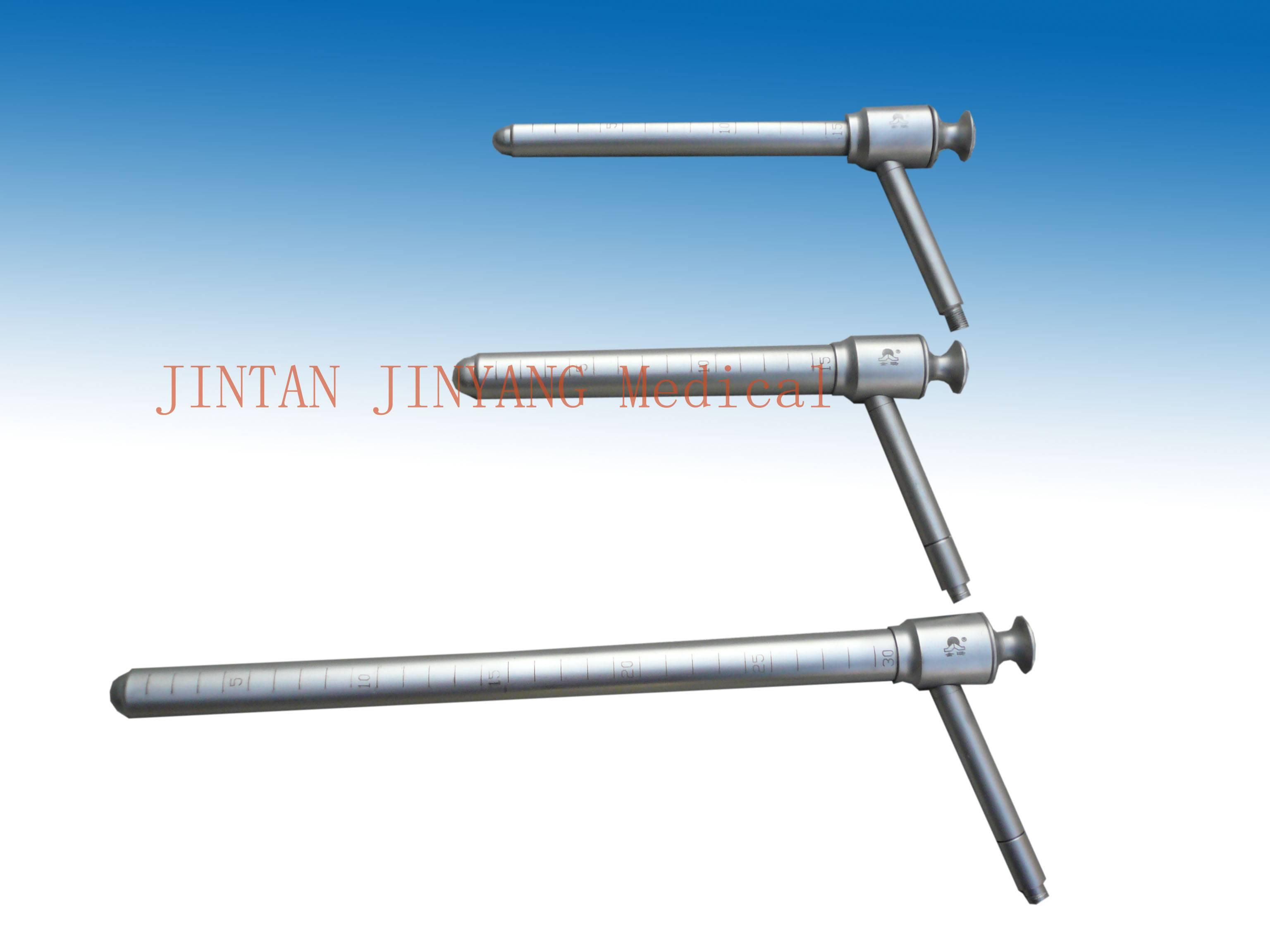 surgical Proctoscope sigmoidoscope with light