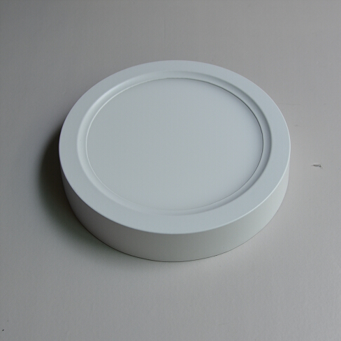 12W Round Surface Mounted Nature White LED Panel Light