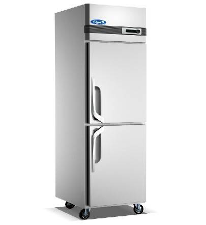Hot sale Two doors stainless steel commercial refrigerator