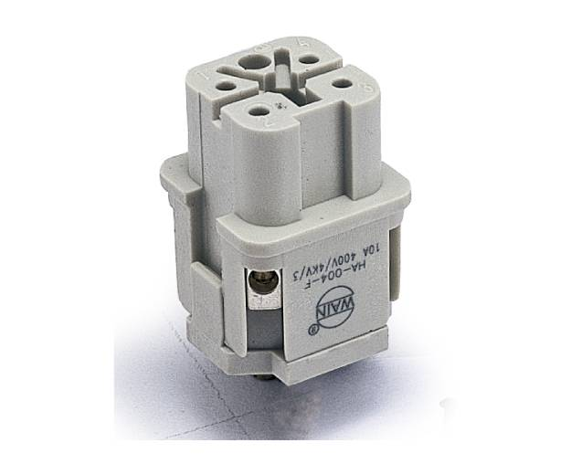heavy duty connector-HA-004-F