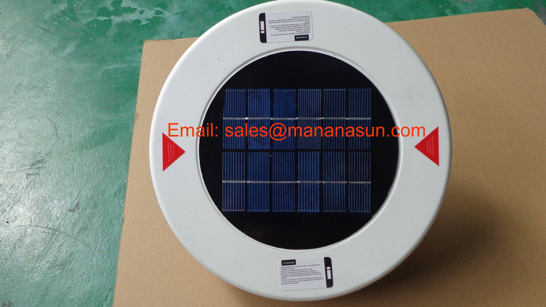 Solar Pool Ionizer Get CE-EMC & RoHs Approved