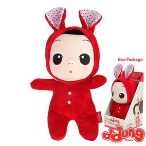 Lovely little girl plush toy