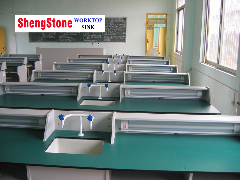 Good price primary and middle school lab phenolic worktops