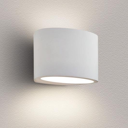 Navi lighting Gypsum wall light recessed trimless round GU9 led Wall lamp plaster light