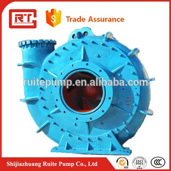 High quality sand gravel dredging pump manufacturer