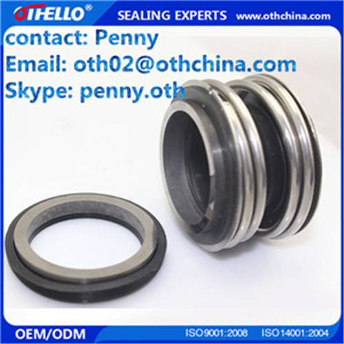 Pump seal repacement burgamnn MG1 rubber bellow mechanical seals  US $3-100 / Set ( FOB Price)