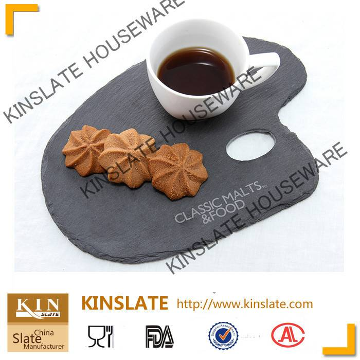 irregular slate plate
