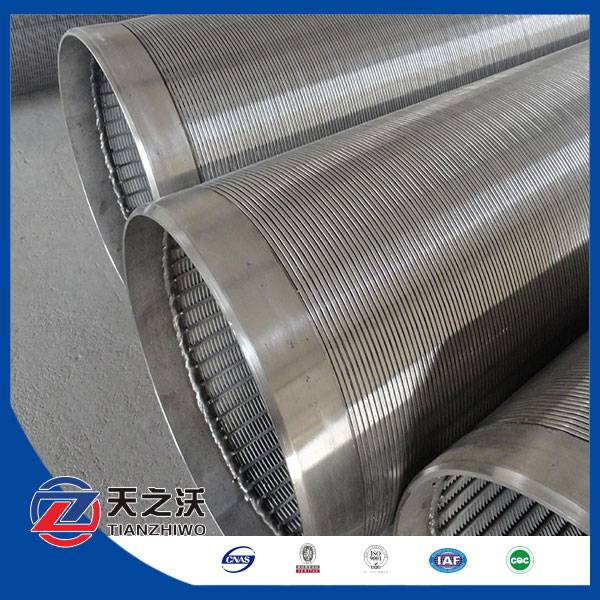 Deep water well screens tube (factory,ISO)