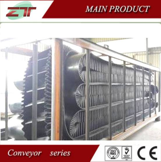 Heavy Duty Long Distance Cleat Sidewall Conveyor Belt