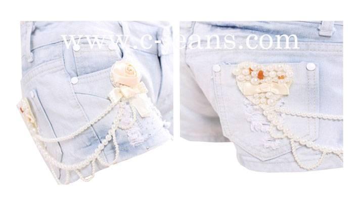Fashion New Short Jeans Lady Short Jeans (1430)