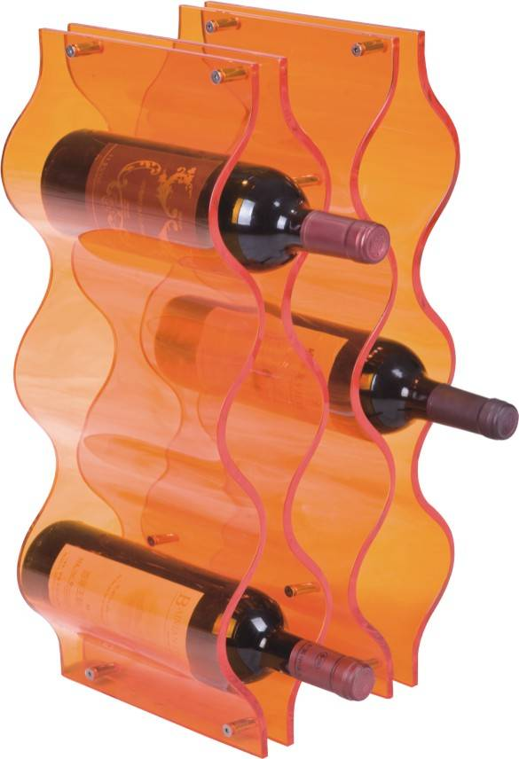 acrylic wine display rack design for storage