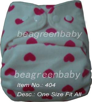 Cloth Diaper with Print