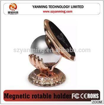 metal magnetic 360 degree rotatable car phone holder