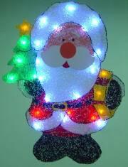 EVA&LED Christmas decorative ligts,Big Head Santa,xmas lights