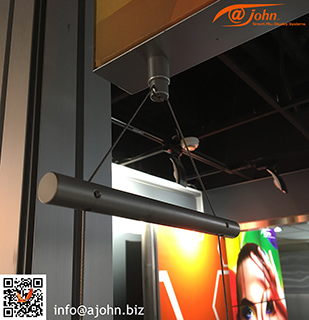 AJOHN vertical support cable rod system