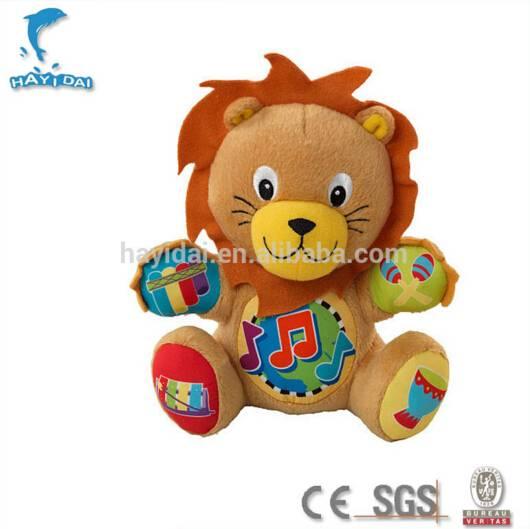 Custom plush toy lion talking plush toy
