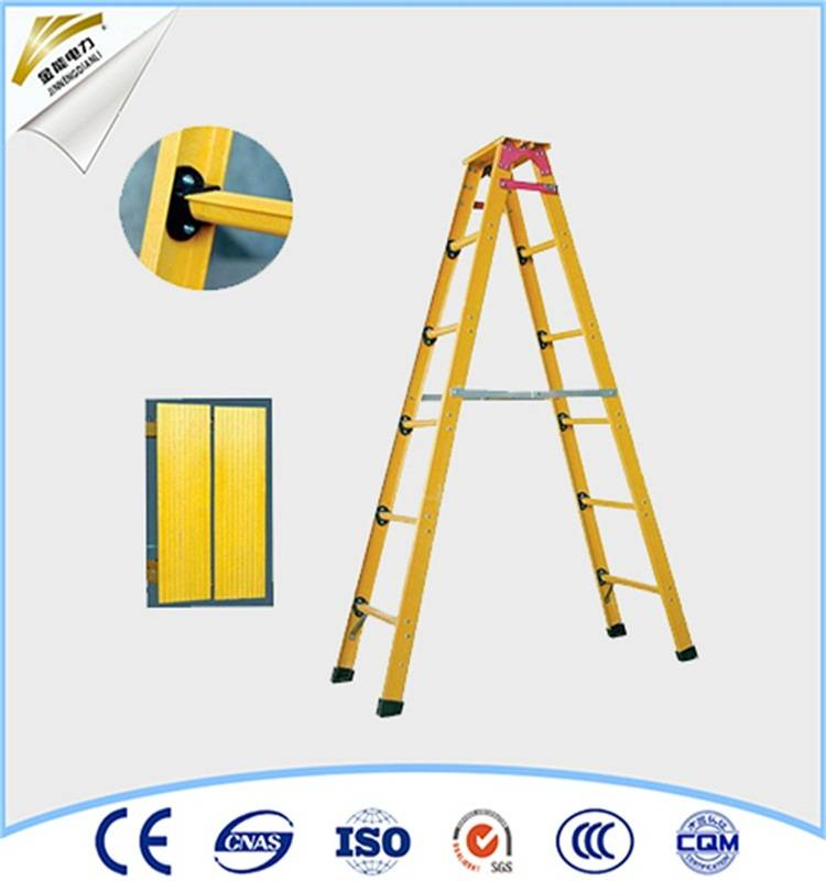 folding insulation telescopic safety ladder