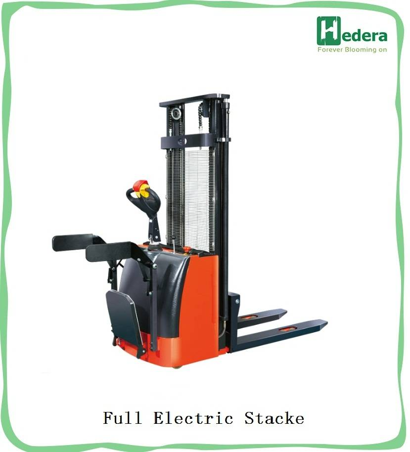 factory warehouse forklift - electric stacker