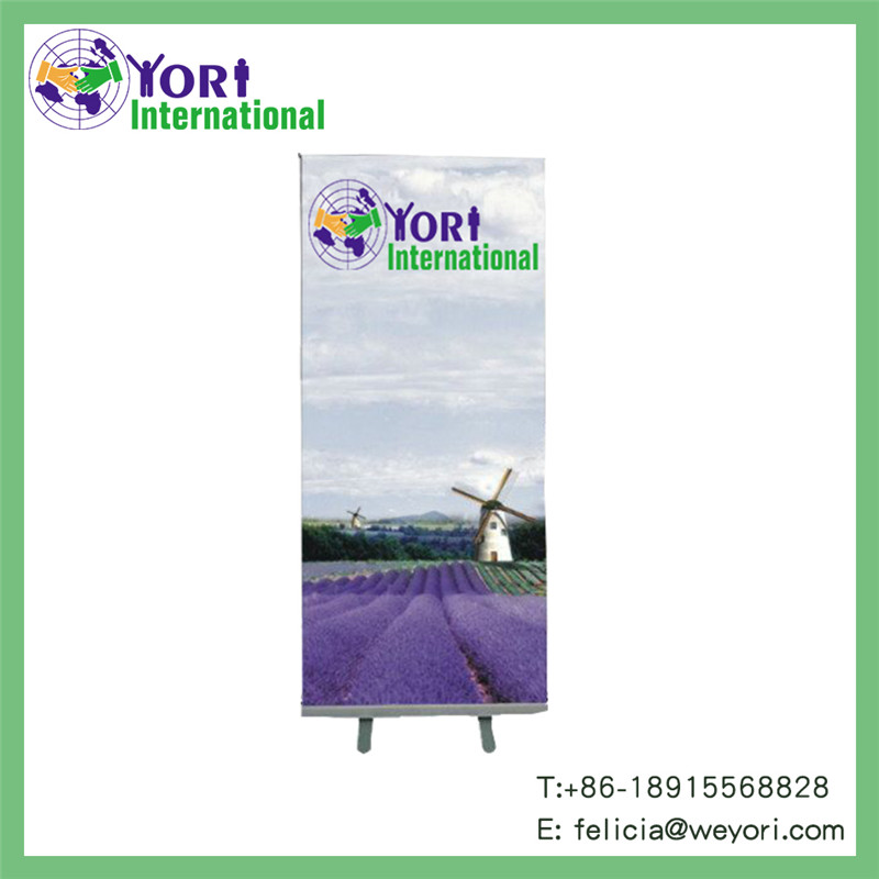 YORI economic and portable telescopic adjustable roll up display
