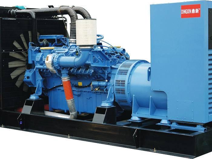 diesel generator set with MTU engine