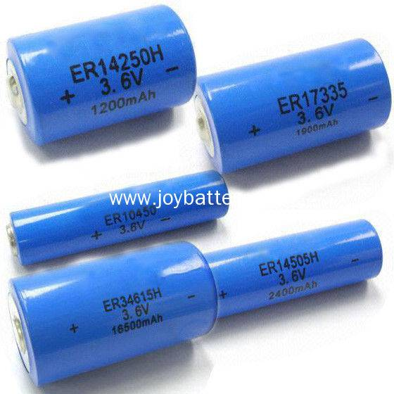 3.6V Li-SOCl2 battery ER26500 8500mah,3.6V lithium battery ER26500 C size