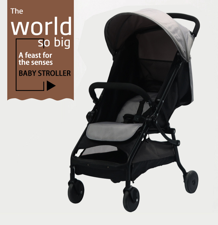 3 in 1 Foldable China Best Lightweight Newborn Buggy Toddler Kid Baby Time Stroller