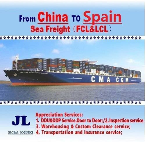 Ocean Shipping From Shenzhen To Spain
