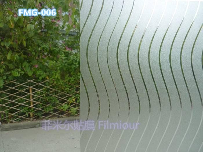 Window Decorative film FMG-006(static cling)