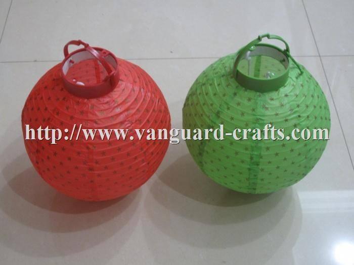 LED Christmas paper lantern light decoration