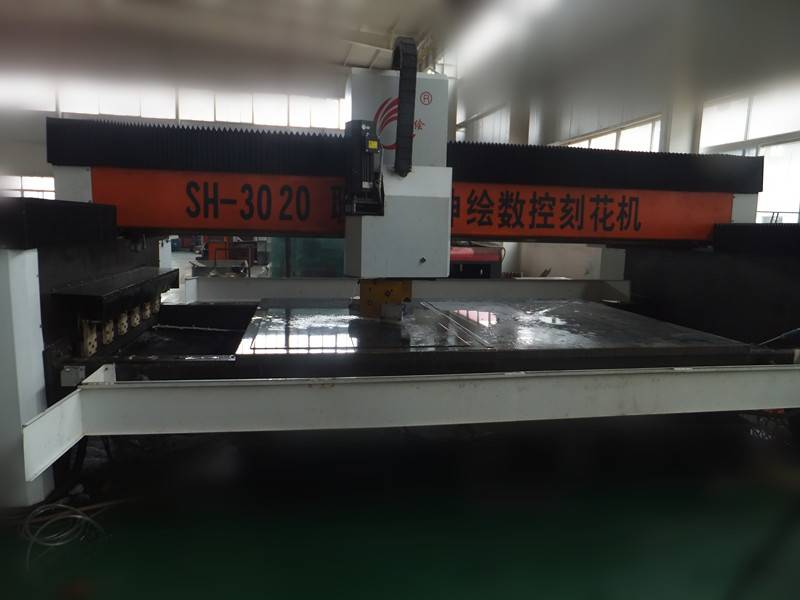 Shenhui CNC Glass Engraving Machine
