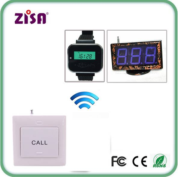 wireless call paging system , patient call push button , nurse wrist watch system