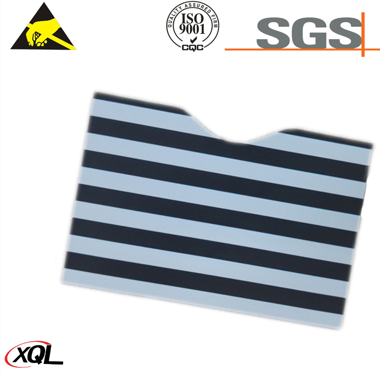 High Security chrome paper rfid blocking card sleeves